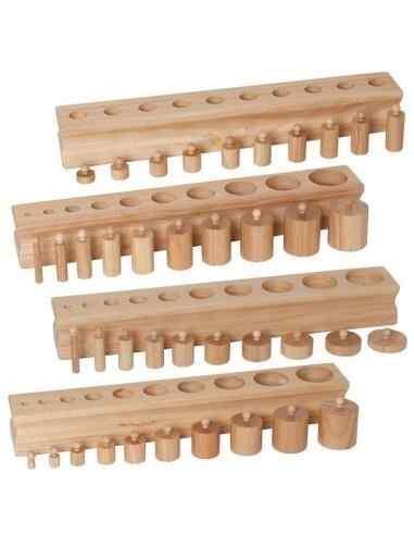 Cylindre Montessori