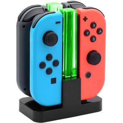 Fyoung 4 En 1 Manettes Chargeur Pour Nintendo Switch