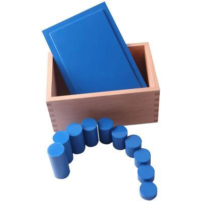 Montessori-Store Boîte des cylindres Bleus