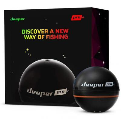 Deeper Pro Plus Smart Sonar portable sans fil Wi-Fi avec GPS intégré Fish Finder